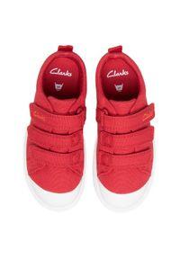 Clarks Trampki City Vibe K 261491197 Czerwony. Kolor: czerwony