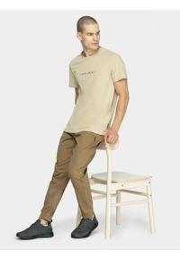outhorn - T-shirt męski. Materiał: bawełna, dzianina
