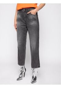 Diesel Jeansy D-Aryel 00SE6T 0096I Szary Straight Fit. Kolor: szary. Materiał: jeans