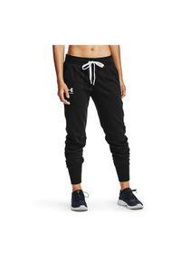 Spodnie damskie Under Armour Rival Fleece Joggers 1356416. Materiał: bawełna, skóra, materiał, poliester. Sport: fitness
