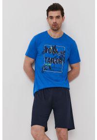 Tom Tailor - Piżama. Kolor: niebieski
