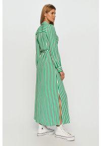 Zielona sukienka TOMMY HILFIGER casualowa, na co dzień