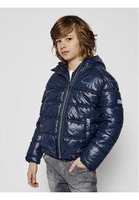 Niebieska kurtka puchowa Pepe Jeans