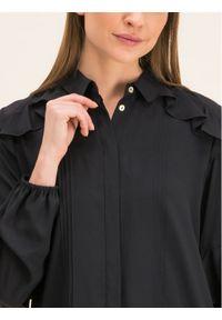 iBlues Koszula 71161096 Czarny Regular Fit. Kolor: czarny #6