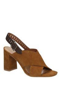 Brązowe sandały Bruno Premi klasyczne, na lato