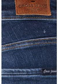 Cross Jeans - Jeansy Alan. Kolor: niebieski