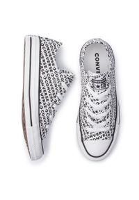 Białe półbuty Converse z cholewką