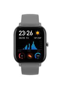 Szary zegarek Xiaomi smartwatch