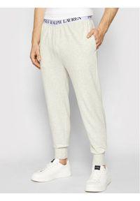 Polo Ralph Lauren Spodnie dresowe Spring 714833978002 Szary Regular Fit. Kolor: szary. Materiał: dresówka