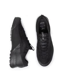 Czarne buty trekkingowe Arc'teryx z cholewką, trekkingowe, Gore-Tex