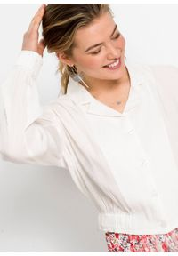 Biała bluza bonprix elegancka