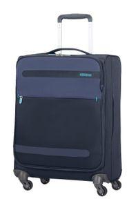 Niebieska walizka AMERICAN TOURISTER sportowa #1