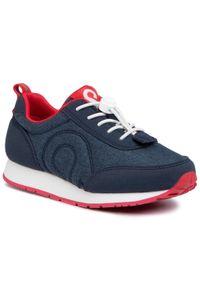 Reima - Sneakersy REIMA - Elege 569427 6980. Okazja: na uczelnię, na spacer, na co dzień. Kolor: niebieski. Materiał: skóra, skóra ekologiczna, materiał. Szerokość cholewki: normalna. Styl: casual