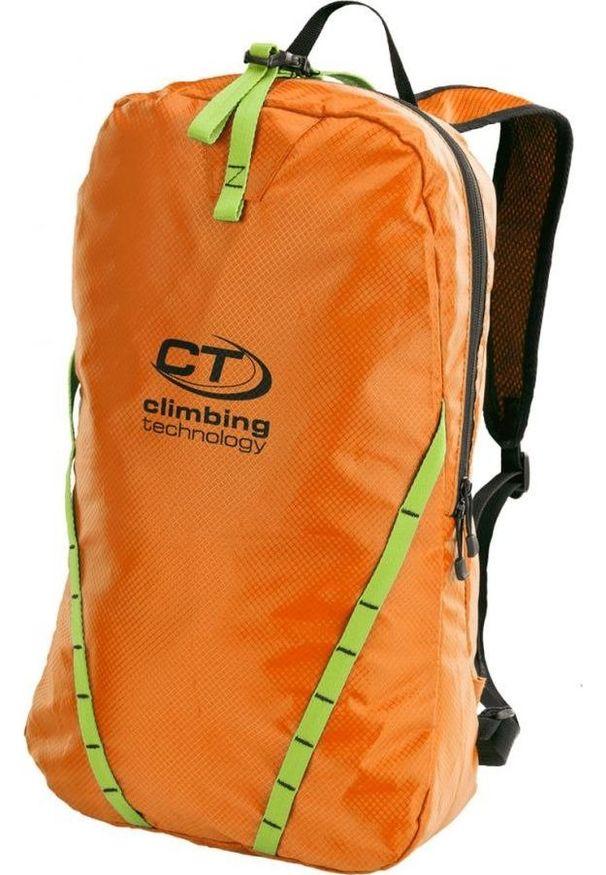 Pomarańczowy plecak