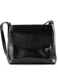 Czarna torebka DAN-A przez ramię, casualowa