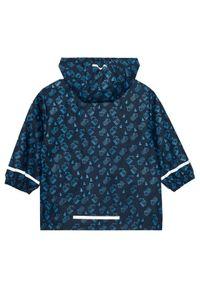 Playshoes Kurtka przeciwdeszczowa 408533 D Granatowy Regular Fit. Kolor: niebieski