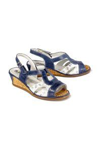 Niebieskie sandały Suave