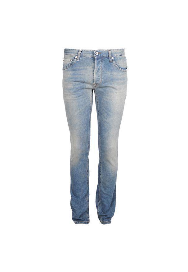 Czarne jeansy Roberto Cavalli