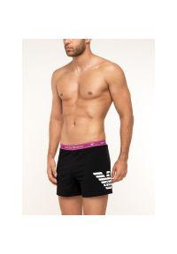 Szorty piżamowe Emporio Armani Underwear 164161 9P317 00020. Kolor: czarny