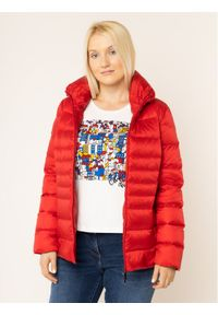 Czerwona kurtka zimowa Persona by Marina Rinaldi