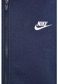 Nike Sportswear - Bluza. Okazja: na co dzień. Kolor: niebieski. Styl: casual