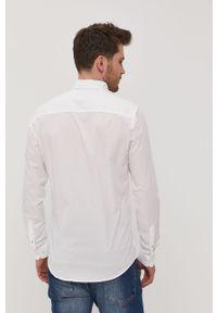 Biała koszula Premium by Jack&Jones button down, gładkie