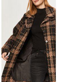 Czarny płaszcz Answear Lab bez kaptura, wakacyjny, na co dzień #7