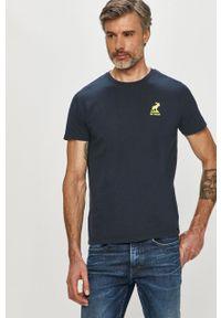 Fat Moose - T-shirt. Okazja: na co dzień. Kolor: niebieski. Materiał: dzianina. Styl: casual