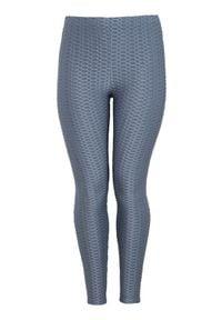 Zhenzi Legginsy zamglony niebieski female niebieski 42/44 (S). Kolor: niebieski. Materiał: jersey, guma