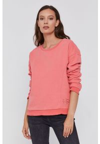 Frieda & Freddies - Bluza. Kolor: różowy. Długość rękawa: długi rękaw. Długość: długie