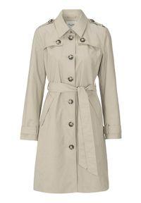 Beżowy płaszcz Cellbes klasyczny