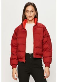 Czerwona kurtka Levi's® casualowa, w kolorowe wzory