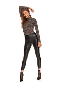 Czarne legginsy TOP SECRET