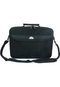 Czarna torba na laptopa NATEC w kolorowe wzory
