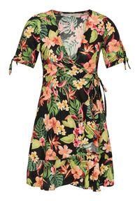 Banana Moon Sukienka letnia Vity Molokaiday JPO01 Kolorowy Regular Fit. Wzór: kolorowy. Sezon: lato