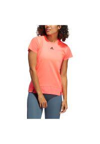 Adidas - Koszulka sportowa damska adidas Heat.RDY Training GL6923. Materiał: poliester, skóra, materiał. Sport: fitness