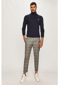 Strellson - Spodnie. Kolor: szary. Materiał: tkanina