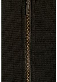 Czarna bluzka z długim rękawem Jacqueline de Yong casualowa, na co dzień