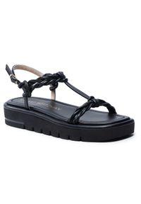 Stuart Weitzman Sandały Calypso Lift Sandal S4562 Czarny. Kolor: czarny