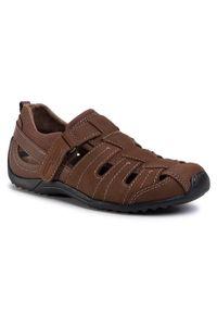 Brązowe sandały Camel Active klasyczne, na co dzień, na lato