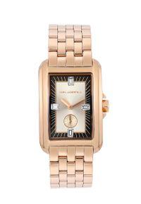 Złoty zegarek Karl Lagerfeld klasyczny