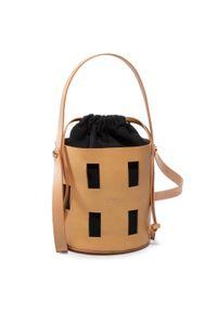 Brązowa torebka klasyczna Hispanitas klasyczna