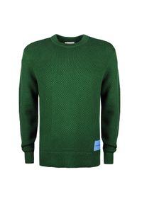 Sweter Calvin Klein na co dzień, z aplikacjami