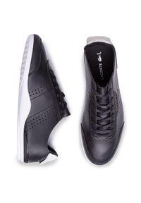 Czarne buty sportowe Lacoste