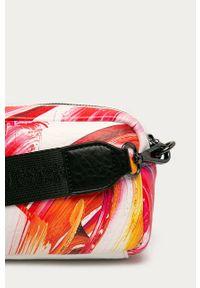 Wielokolorowa listonoszka Desigual mała, skórzana, na ramię