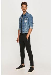 Czarne spodnie dresowe Calvin Klein melanż