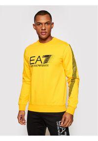 Żółta bluza EA7 Emporio Armani