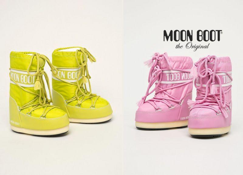 Buty księżycowe dla dziewczynek