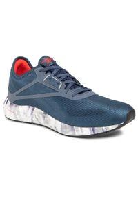 Niebieskie buty do biegania Reebok z cholewką