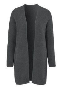 Szary sweter Cellbes z długim rękawem, długi